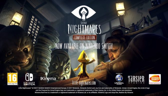 Jaquette du jeu little nightmare sur nintendo switch