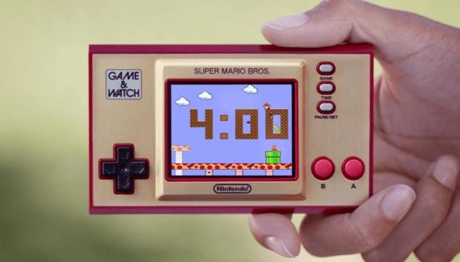 Nintendo Game & Watch Super Mario Bros - Trailer monde 1