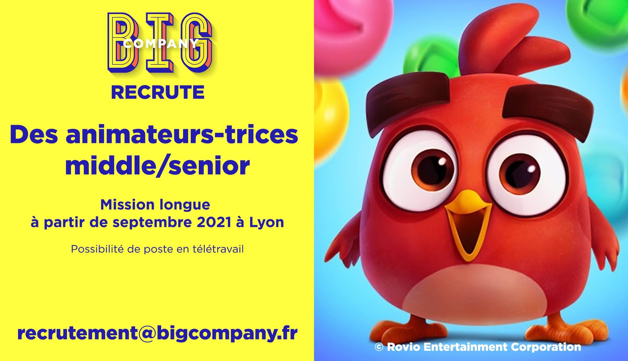 Big Jobs | Animateurs(trices) middle/senior 1