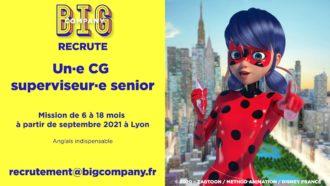 Big Jobs | CG superviseur(e) senior 1