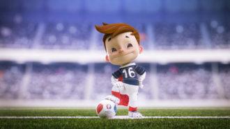 Mascotte Euro 2016 1